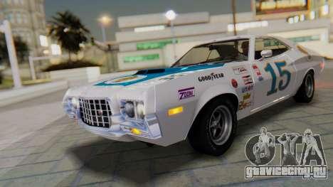 Ford Gran Torino Sport SportsRoof (63R) 1972 PJ1 для GTA San Andreas вид сверху