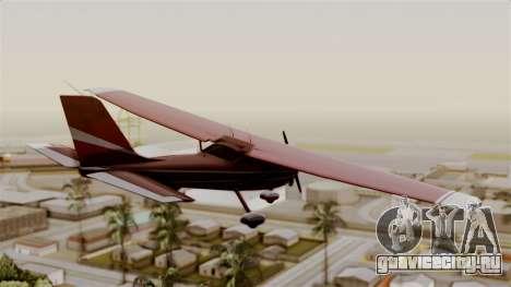 GTA 5 Jobuilt Mammatus для GTA San Andreas вид слева