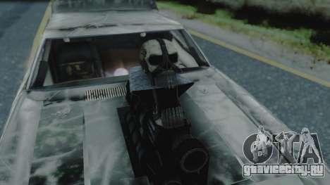Razor Cola v1.0 для GTA San Andreas вид изнутри