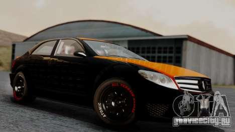 GTA 5 Benefactor Schafter V12 Arm для GTA San Andreas