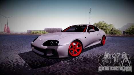 Toyota Supra Drift Monster Energy для GTA San Andreas