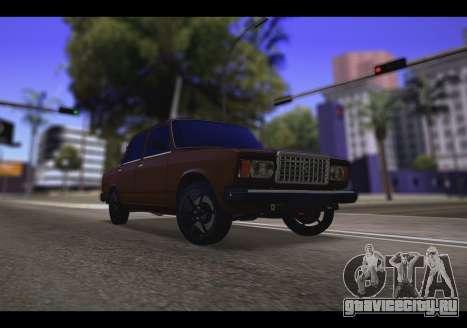 Ваз 2107 Oper для GTA San Andreas