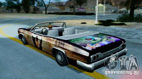Slamvan New PJ для GTA San Andreas