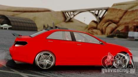 GTA 5 Benefactor Schafter V12 IVF для GTA San Andreas вид сзади слева