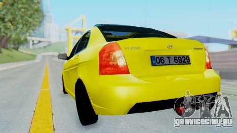 Hyundai Accent Era для GTA San Andreas вид слева