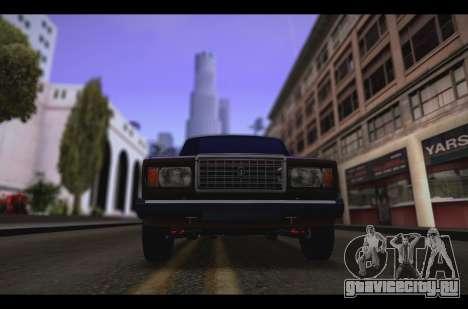 Ваз 2107 Oper для GTA San Andreas вид слева