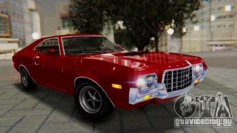 Ford Gran Torino Sport SportsRoof (63R) 1972 PJ1 для GTA San Andreas
