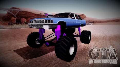 GTA 4 Emperor Monster Truck для GTA San Andreas