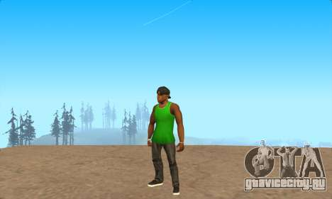 Скин-пак Grove от NeveR для GTA San Andreas четвёртый скриншот