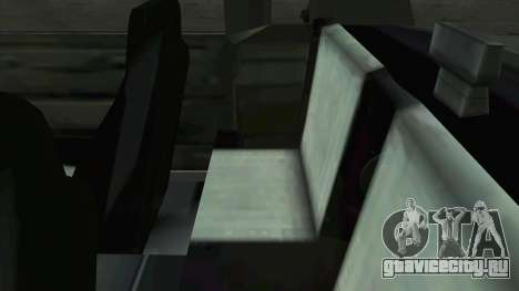 Willard Majestic для GTA San Andreas вид сбоку