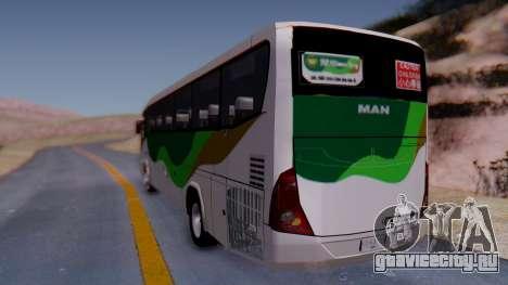 MAN RR2 18.360 для GTA San Andreas вид сзади слева