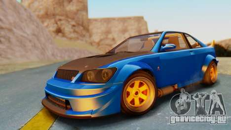 GTA 5 Karin Sultan RS Carbon для GTA San Andreas