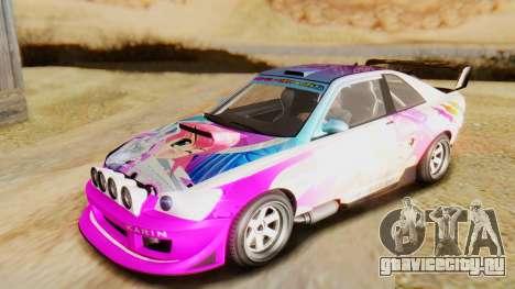 GTA 5 Karin Sultan RS IVF для GTA San Andreas вид сбоку