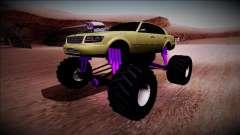 GTA 4 Washington Monster Truck для GTA San Andreas