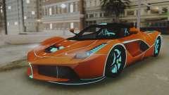 Ferrari LaFerrari TRON Edition v1.0 для GTA San Andreas