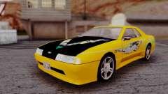 Elegy F&F Supra PJ для GTA San Andreas