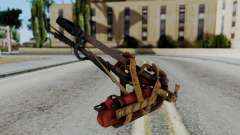 Fallout 4 - Flamethrower для GTA San Andreas