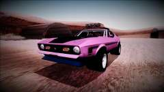 1971 Ford Mustang Rusty Rebel для GTA San Andreas