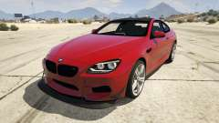 2013 BMW M6 Coupe для GTA 5