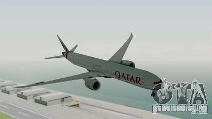 Boeing 777-9x Qatar Airways для GTA San Andreas