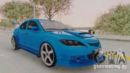 Mazda 3 Full Tuning для GTA San Andreas