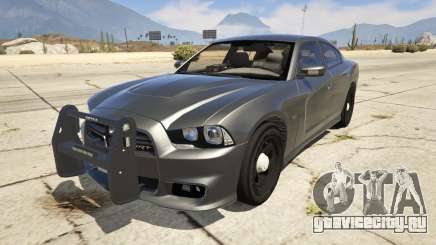 2012 Unmarked Dodge Charger для GTA 5