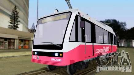 GTA 5 Metrotrain для GTA San Andreas