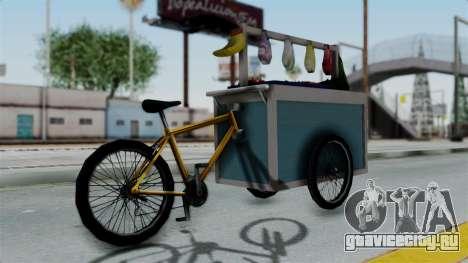 Gerobak Sayur (Vegetable Carts) для GTA San Andreas вид слева