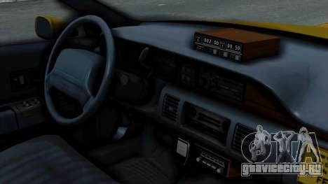 Chevrolet Caprice 1991 Taxi для GTA San Andreas вид справа