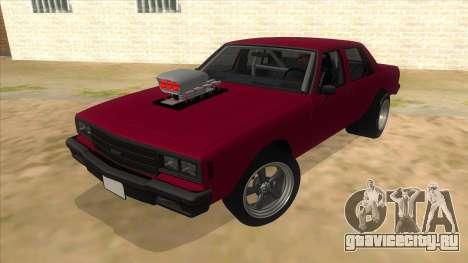 1984 Chevrolet Impala Drag для GTA San Andreas