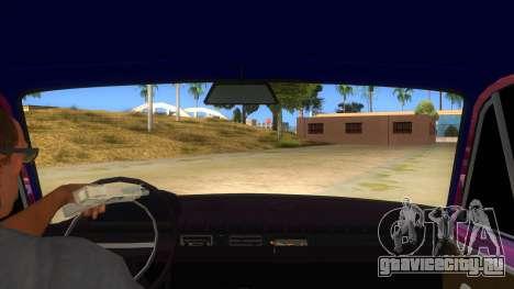 ВАЗ 2101 Копейка для GTA San Andreas вид изнутри