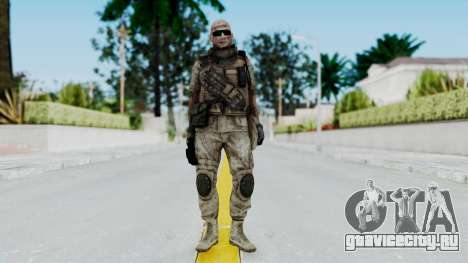 Crysis 2 US Soldier FaceB2 Bodygroup B для GTA San Andreas второй скриншот