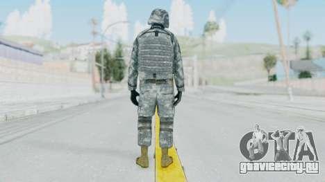 Acu Soldier Balaclava v1 для GTA San Andreas третий скриншот
