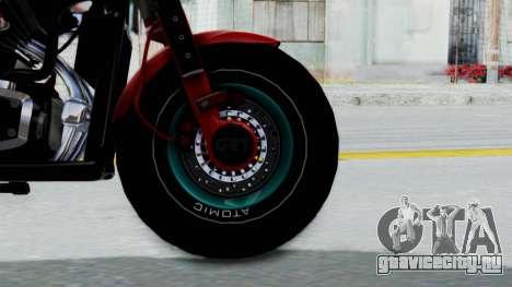 Turbike 3.0 для GTA San Andreas вид сзади слева
