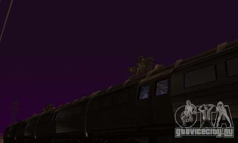 Batman Begins Monorail Train Vagon v1 для GTA San Andreas вид сбоку