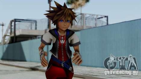 Kingdom Hearts 2 - Sora Early Costume Fix для GTA San Andreas