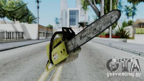 No More Room in Hell - Chainsaw для GTA San Andreas