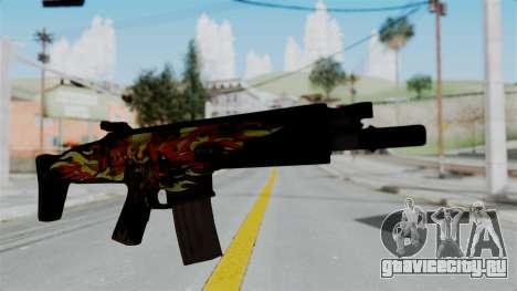 SCAR-L Extra PJ для GTA San Andreas