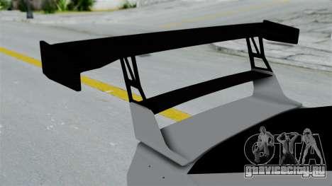 GTA 5 Karin Sultan RS Drift Double Spoiler PJ для GTA San Andreas вид сзади