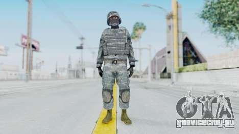 Acu Soldier Balaclava v1 для GTA San Andreas второй скриншот