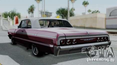 Chevrolet Impala 1964 для GTA San Andreas вид слева