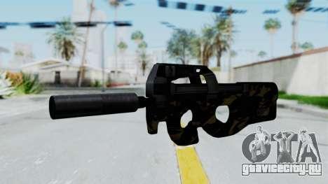 P90 Camo2 для GTA San Andreas