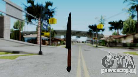 No More Room in Hell - Kitchen Knife для GTA San Andreas второй скриншот