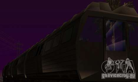 Batman Begins Monorail Train Vagon v1 для GTA San Andreas вид сверху