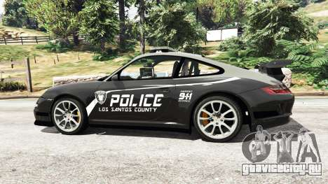 Porsche 911 GT3 RS Pursuit Edition для GTA 5 вид слева
