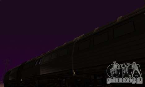 Batman Begins Monorail Train Vagon v1 для GTA San Andreas вид изнутри