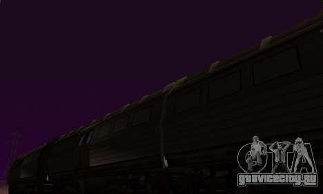 Batman Begins Monorail Train Vagon v1 для GTA San Andreas вид изнутри