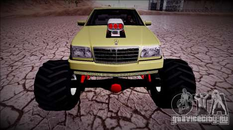 Mercedes-Benz W140 Monster Truck для GTA San Andreas вид сзади