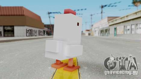 Crossy Road - Chicken для GTA San Andreas третий скриншот