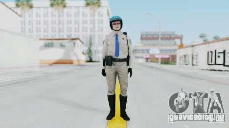 GTA 5 Cop-Biker для GTA San Andreas второй скриншот